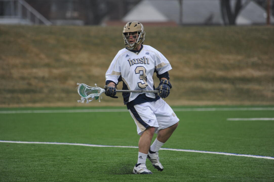Junior attackman Nicholas Beattie and the Irish will look to improve to 7-0 this season.