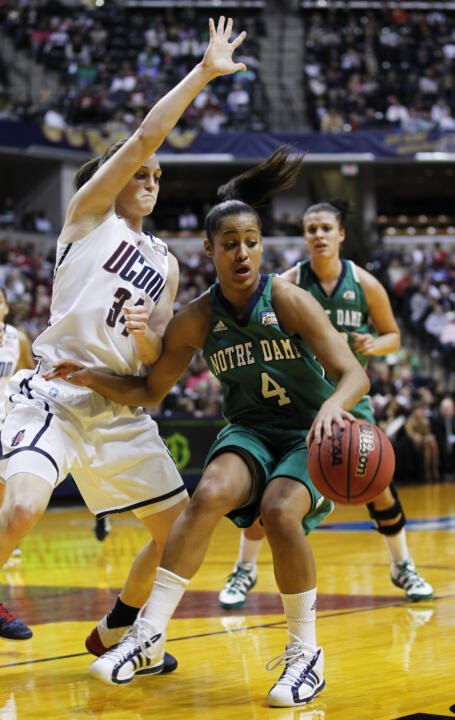 Skylar Diggins and the Irish will have all but one regular contributor back for the 2011-12 season.