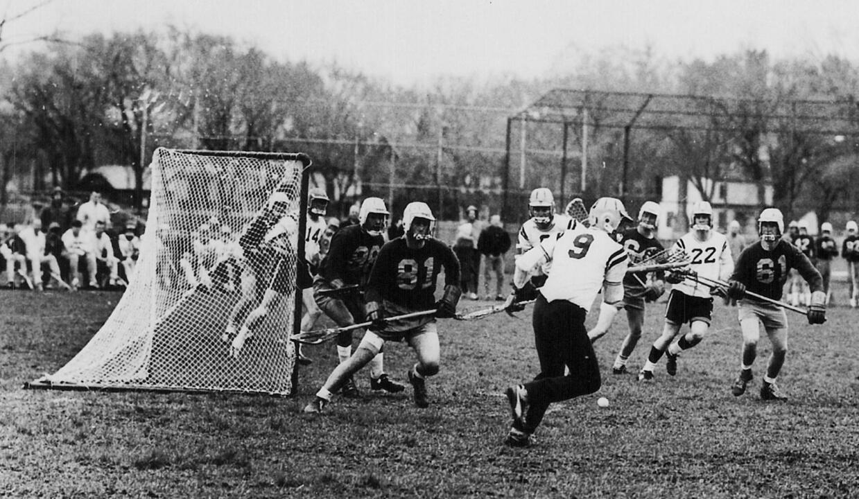 Matt Dwyer was one of the founding members of the Notre Dame men's lacrosse club.