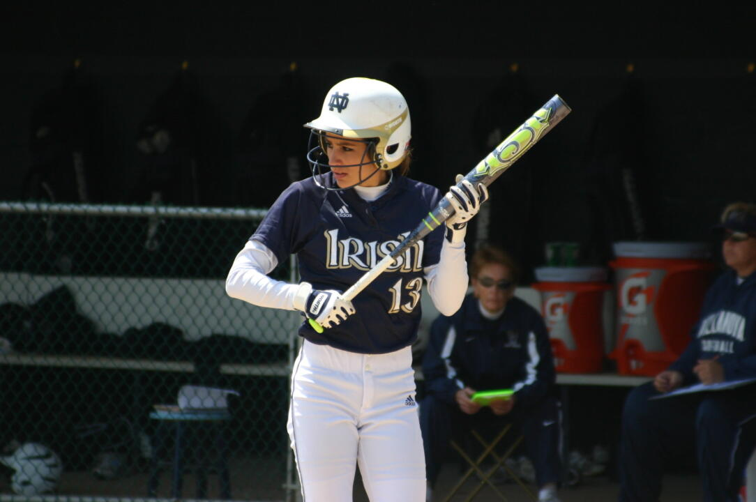 A two-run homer by Alexa Maldonado in game two proved to be the difference for Notre Dame.