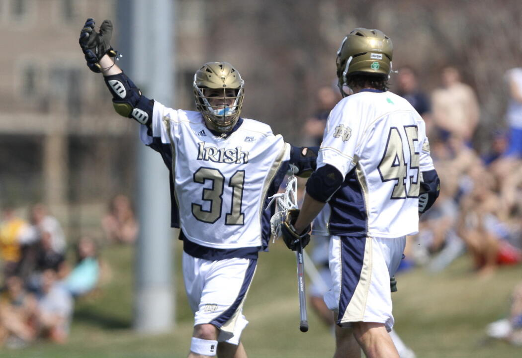 Senior attackman Colin Igoe had a career-high four points on three goals and an assist.