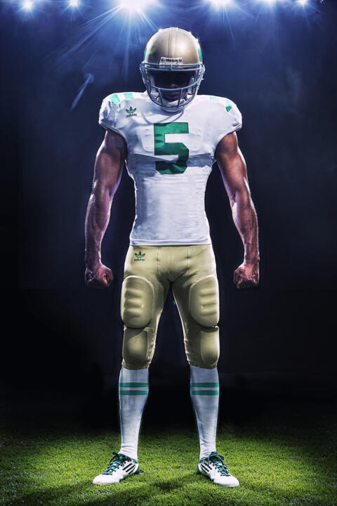 Fighting Irish to Wear Special Edition Uniforms in Sept. 10 Matchup