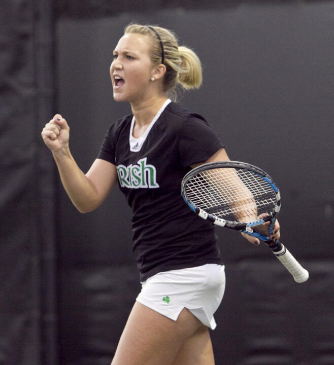 Kelcy Tefft returns to the school where she played her collegiate tennis to serve as assistant coach.