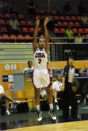 Notre Dame rising junior All-America guard Skylar Diggins will be seeking her third USA Basketball gold medal in four years when she and Fighting Irish teammates Natalie Novosel and Devereaux Peters lead Team USA into the 2011 World University Games beginning Aug. 14 in Shenzhen, China.