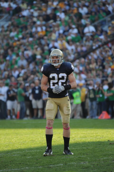 Team captain Harrison Smith will lead the Irish into Notre Dame Stadium this weekend to begin the 2011 season against USF.