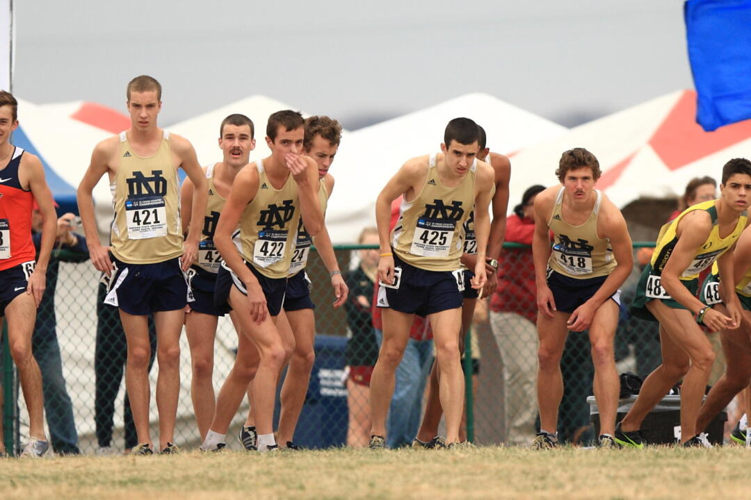 The men's cross country team is ranked 23rd to open the 2011 season.