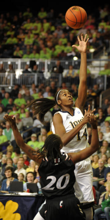 Fifth-year senior All-America forward Devereaux Peters made her college debut in Notre Dame's 2007 Preseason WNIT opener against Miami (Ohio), collecting six points, eight rebounds and five blocks in 15 minutes as the Fighting Irish dropped the Redhawks, 98-50 at Purcell Pavilion.