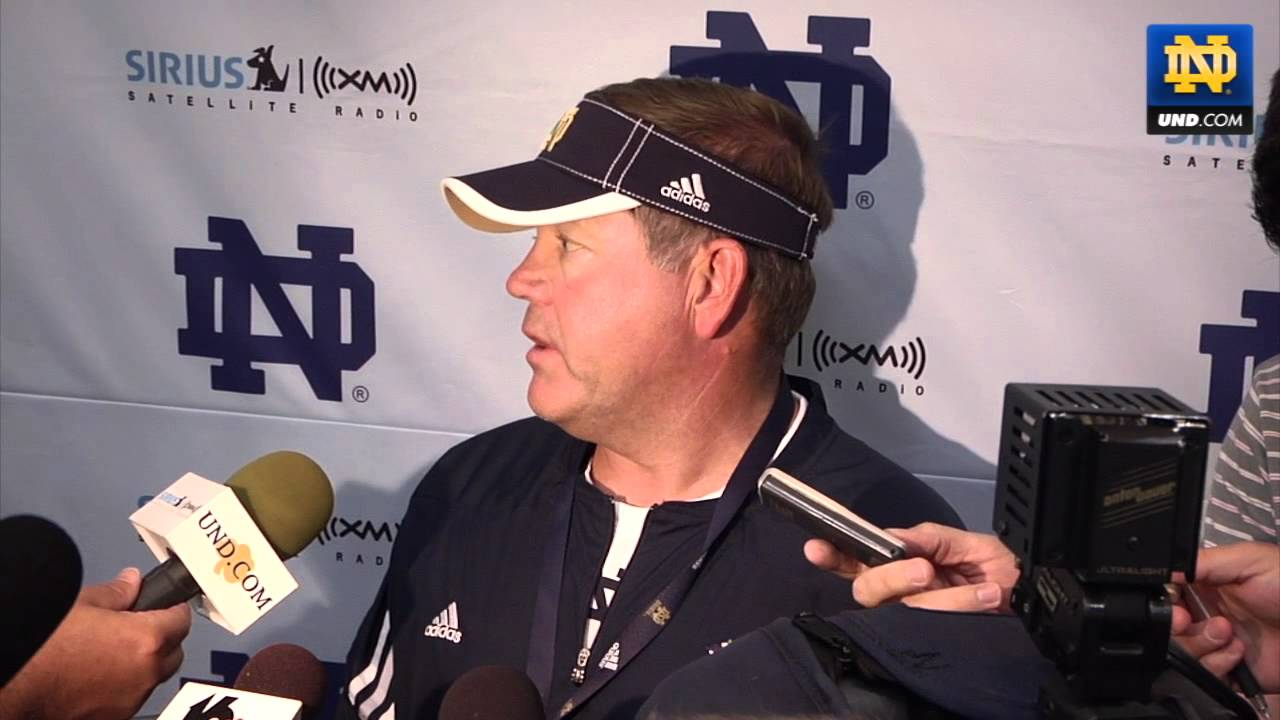 Brian Kelly - Post Practice Media Session - Aug. 13, 2011