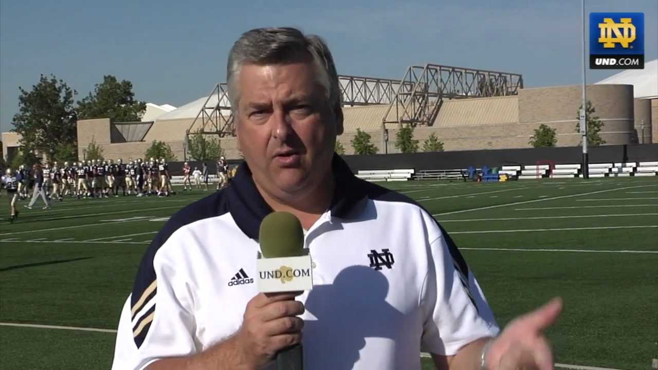 Notre Dame Football Practice Update - Aug. 12, 2011