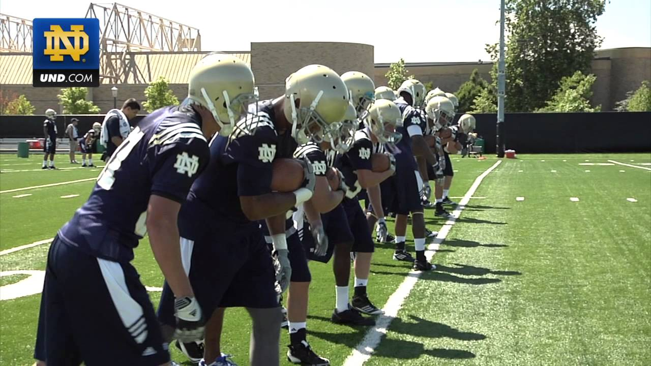 Notre Dame Football Practice Update - Aug. 8, 2011