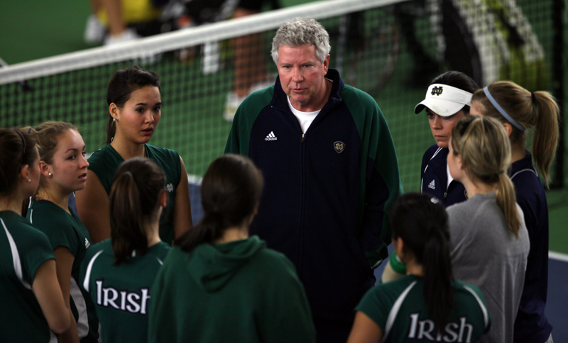Irish head coach Jay Louderback and the Irish again face one of the toughest schedules in the country in 2011-12.