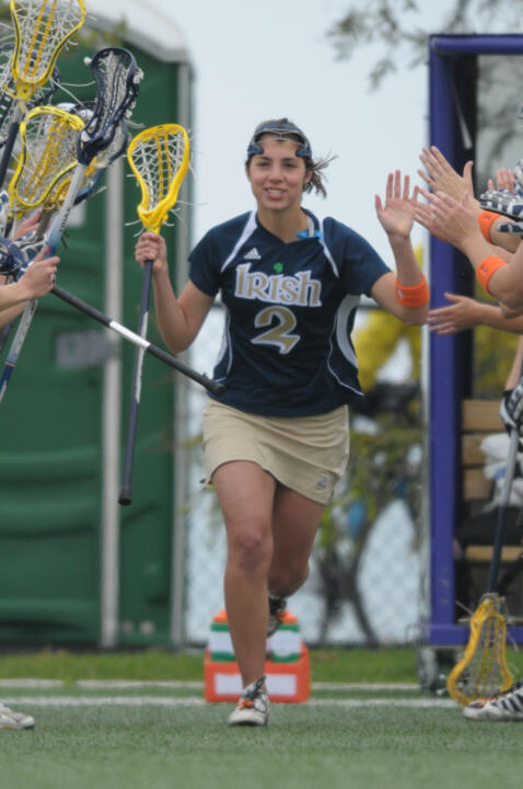 Meredith Locasto graduated from Notre Dame as a two-time selection to the IWLCA academic honor roll.
