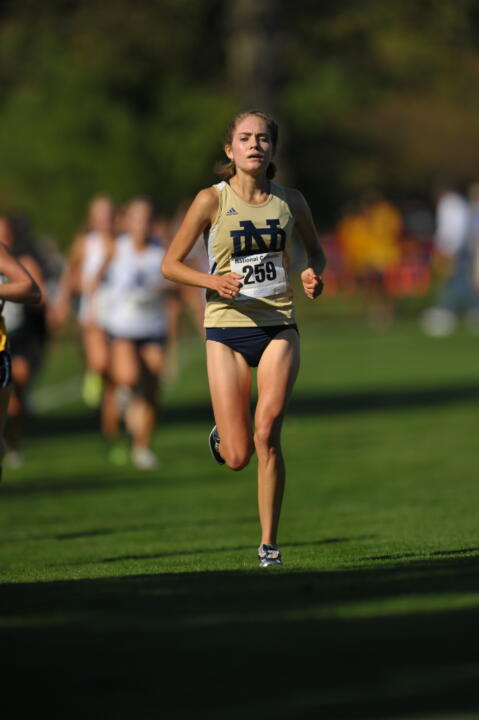 Junior Jessica Rydberg finished second in the women's race.