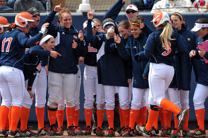 A number of great prizes will be raffled off this fall by the Notre Dame softball team.