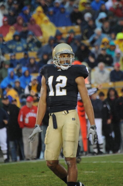 Robert Blanton had seven tackles for loss in 2010 - the most by a Notre Dame defensive back since A'Jani Sanders totaled 10 during the 1999 campaign.