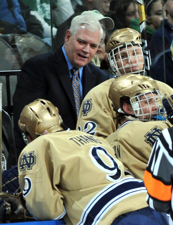 Head coach Jeff Jackson and his Irish hockey team are set to open the 2011-12 season versus Minnesota-Duluth.