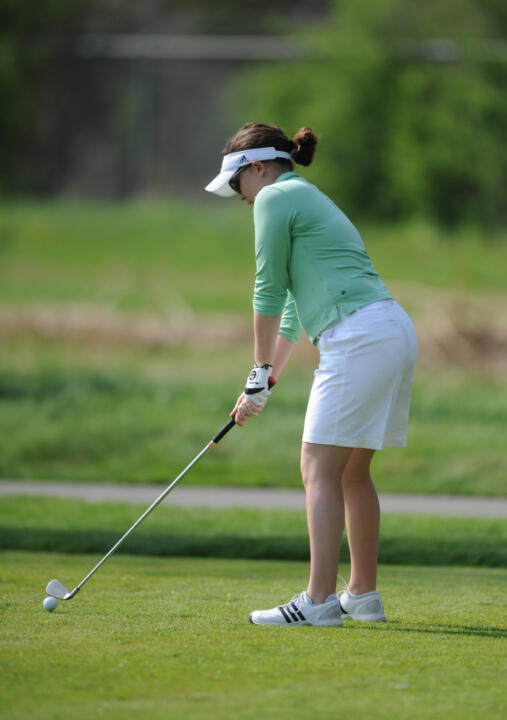 Senior Katie Allare and the Irish will play their third tournament of the fall this Monday and Tuesday when they participate in the Indiana Fall Inivtational at Crooked Stick in Carmel, Indiana.
