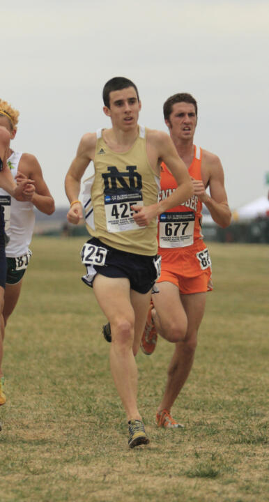 Junior Jeremy Rae helped the men's team to a 19th-place finish, placing 76th overall in 24:41.0.