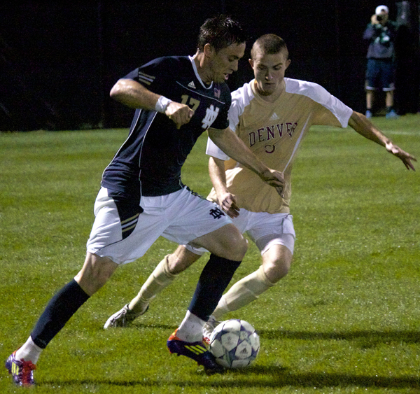 Brendan King gave the Irish a 1-0 lead in the 10th minute.