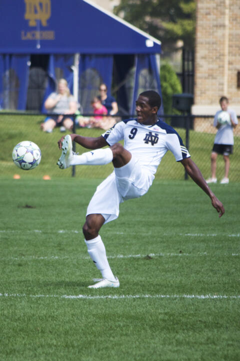 Sophomore forward Leon Brown tied the game in the 80th minute with his first career goal.