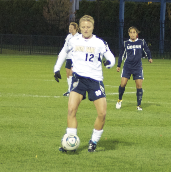 Senior tri-captain Jessica Schuveiller has tallied 12 points (5G-2A) since moving to the midfield seven matches ago.