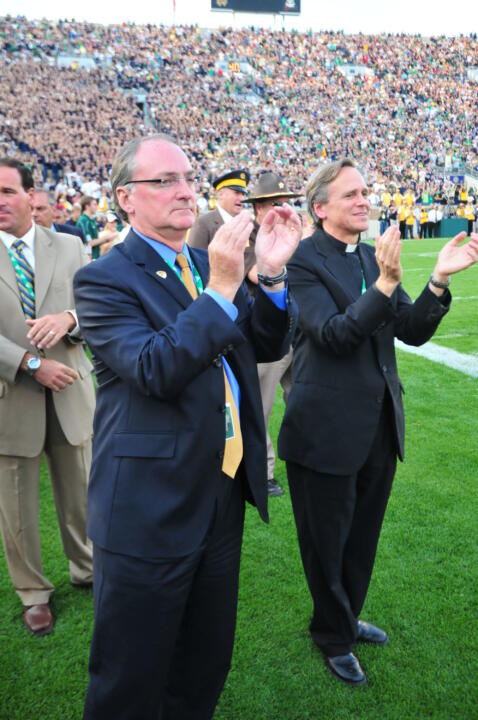 Jack Swarbrick ('76), in his third year as University vice president and director of athletics, already has attached his signature to a variety of new campus athletics department initiatives - based on five pillars of excellence, education, tradition, faith and community.
