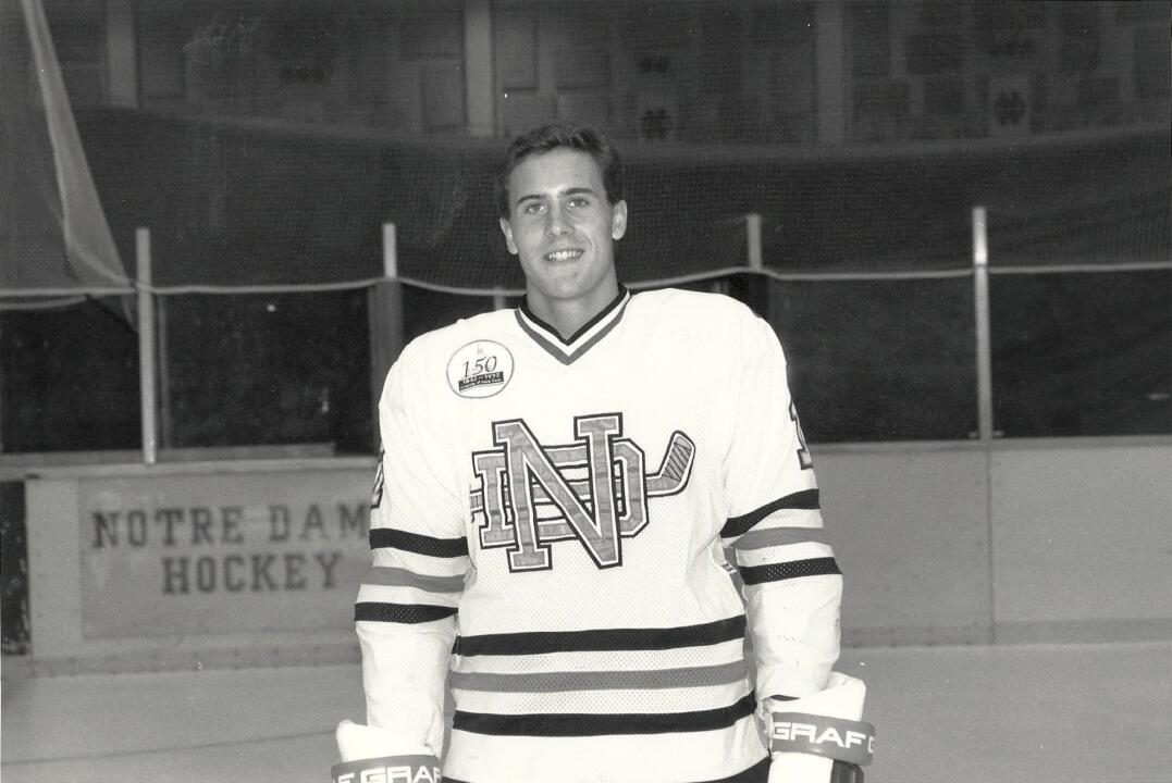 Tom Arkell had aspirations of playing in the National Hockey League, injuries cut his promising career short, as he earned a monogram as a freshman but saw his Notre Dame career curtailed after 30 games.