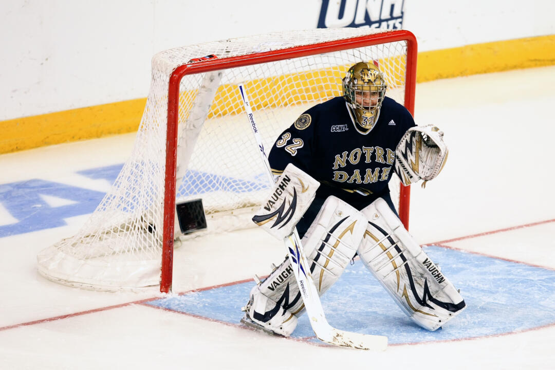 Mike Johnson made 24 saves in the 2-2 tie with Western Michigan.  His personal unbeaten streak is now nine games (6-0-3).