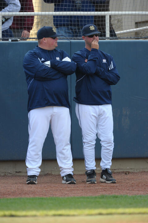The entire Notre Dame Baseball staff will be present at all times throughout the camp, including head coach Mik Aoki.