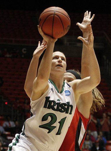 Senior guard Natalie Novosel scored a game-high 21 points in Notre Dame's exhibition win over Michigan Tech last year.