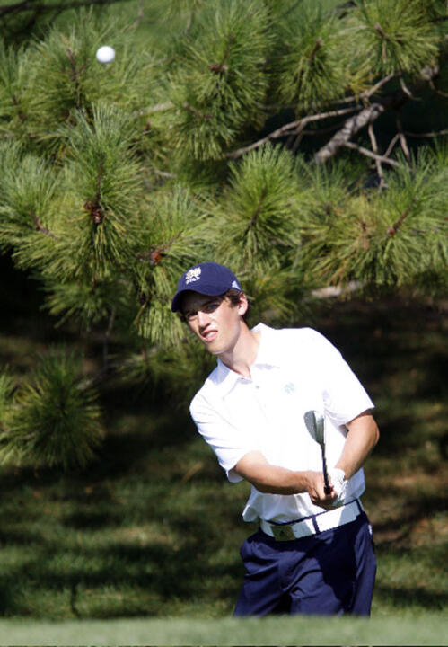 Niall Platt earned his second top-25 finish of the fall with his tie for 19th at the Royal Oaks Intercollegiate after posting a score of 212 (-1).