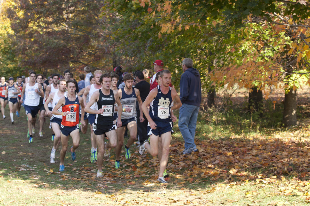 Sophomore Martin Grady leads the Irish men into the Great Lakes Regionals.