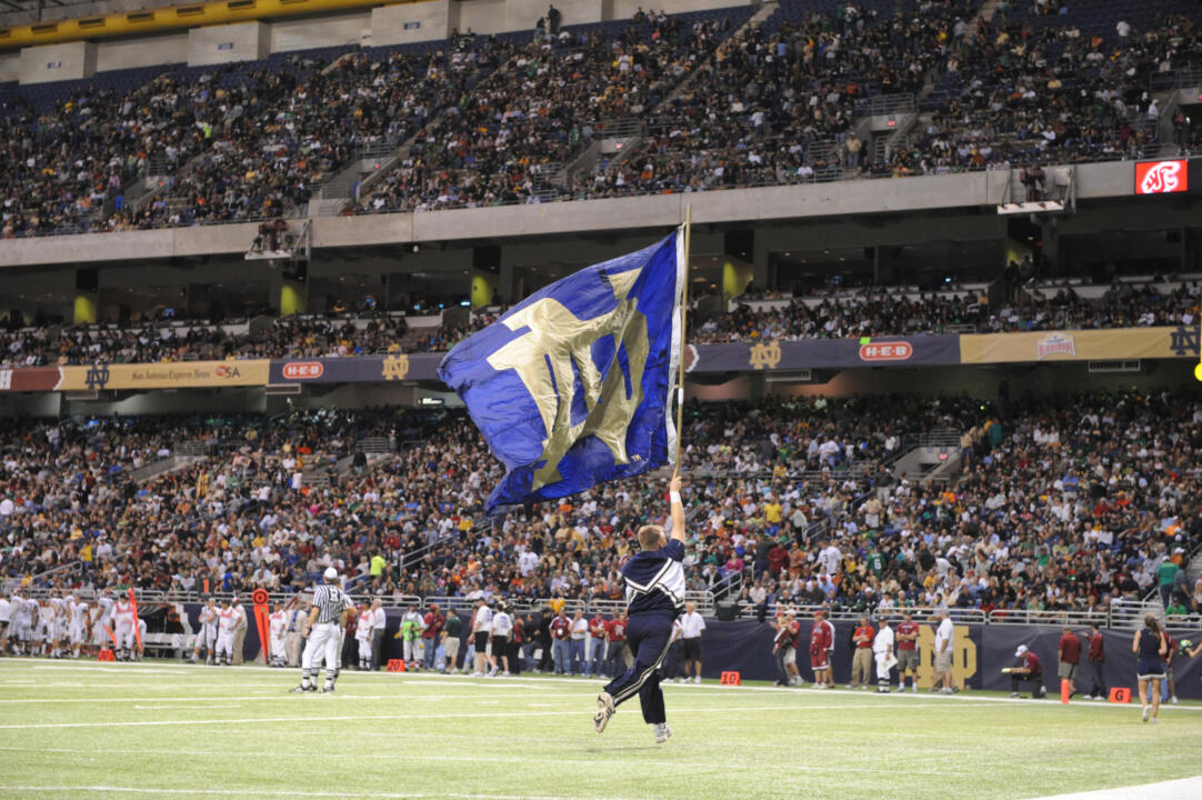 Notre Dame began an annual tradition in 2008 by playing a neutral site game in locations throughout the country. The first of these games was an October 31, 2008 match-up against Washington State played at the Alamo Dome in San Antonio, Texas.