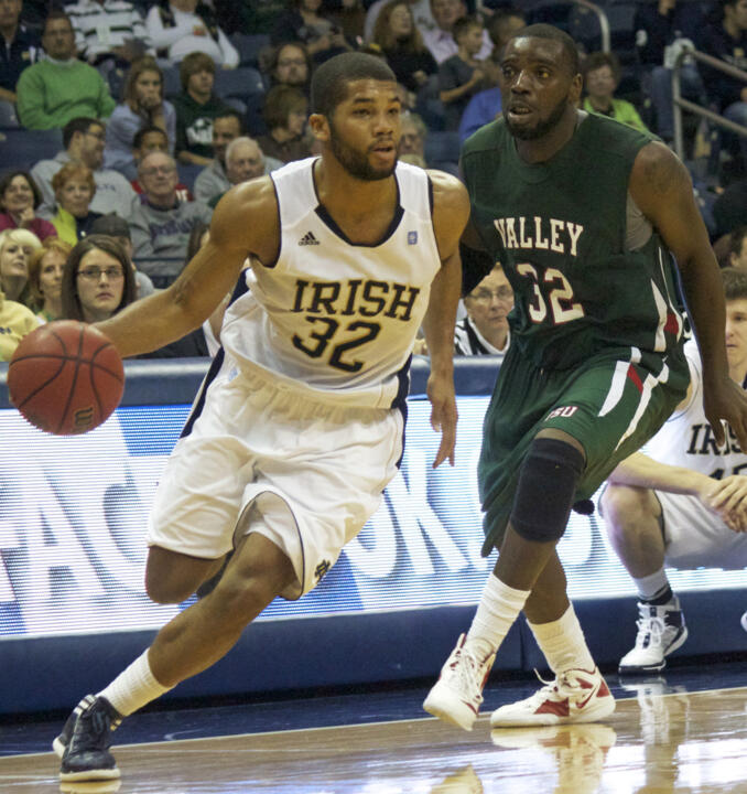 File: Joey Brooks, 13 points, was one of four Irish players to score in double figures.