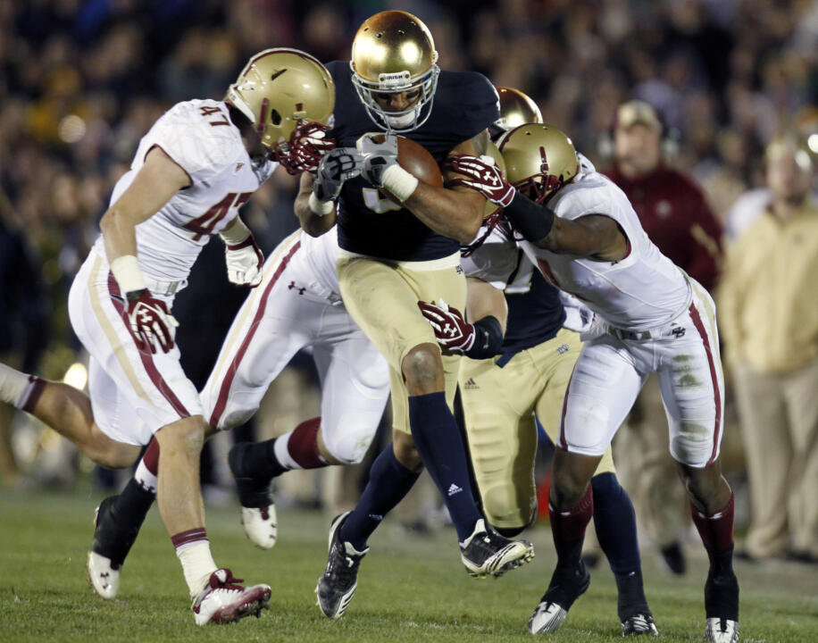 Michael Floyd will play his final regular season game for the Irish Saturday night at Stanford.