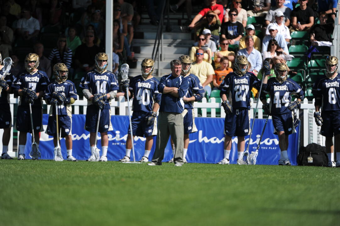 Head coach Kevin Corrigan and the Irish will face another challenging schedule this season.