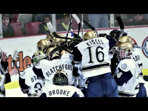 Onward to Victory -- Notre Dame Hockey: New Year's Eve at 9:30 pm Eastern on VERSUS