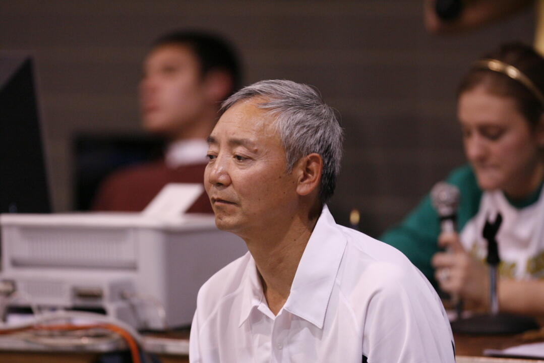 Diving coach Caiming Xie