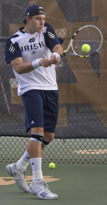Sophomore Billy Pecor is 1-0 in singles and 2-0 in doubles so far this year.