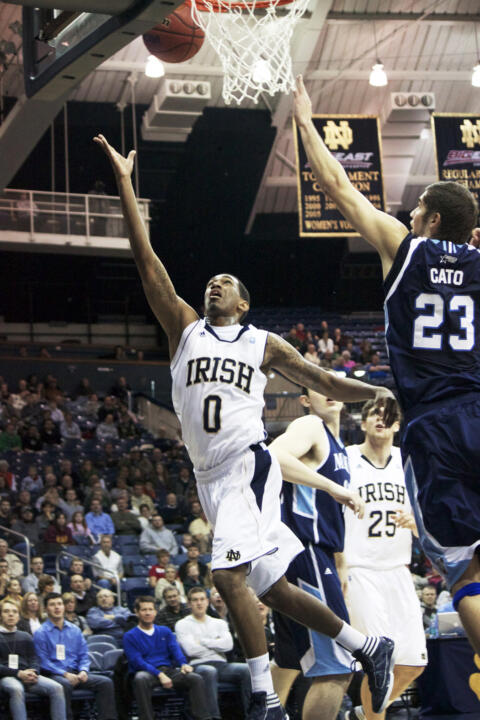 Sophomore point guard Eric Atkins has led the Irish in scoring a team-best seven times this season.