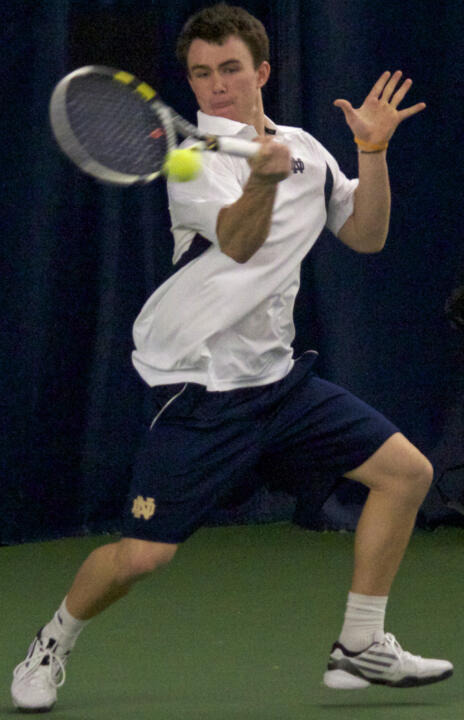 Sophomore Greg Andrews earned the first BIG EAST Men's Tennis weekly award of the season on Tuesday.