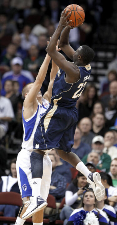 Jerian Grant scored a game-high 15 points in Wednesday's win at Seton Hall.