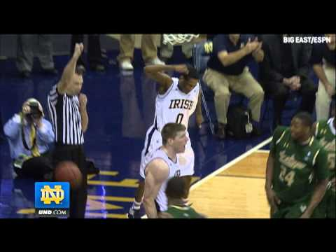 Jack Cooley Dunk vs. USF - Jan. 20, 2012
