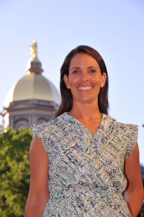 The Notre Dame women's lacrosse program ushers in a new era in 2012 with the arrival of first-year head coach Christine Halfpenny.