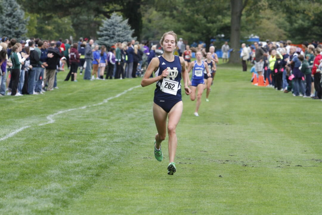 Junior Jessica Rydberg was one of three Irish runners selected to the USTFCCCA All-Academic Team.