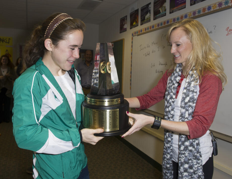 Incoming Freshman Molly Seidel was named the 2011-12 Gatorade National Girls Cross Country Runner of the Year.