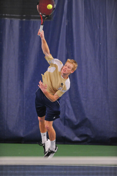 Senior Casey Watt won at No. 1 singles.