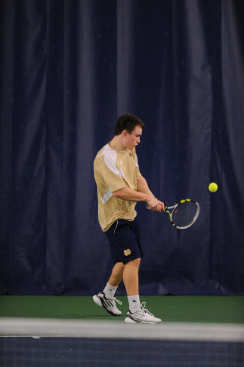 Sophomore Greg Andrews is ranked No. 49 in the latest singles rankings.