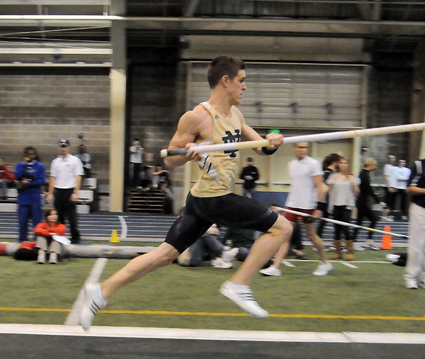 Senior Kevin Schipper is looking to earn his first indoor All-America scroll this weekend.