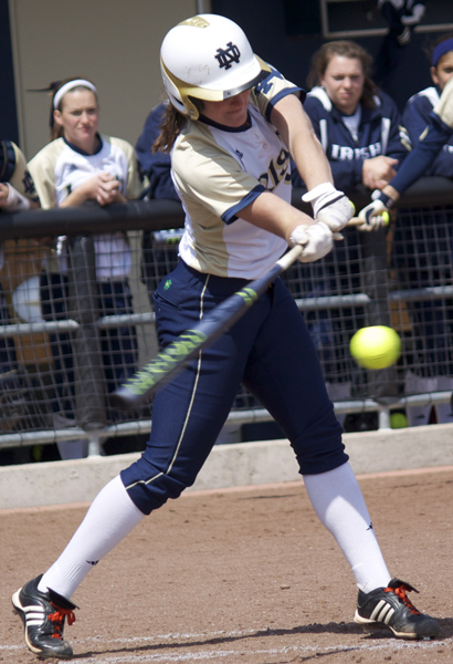 Junior Amy Buntin went 3-for-3 with five RBI in an 8-1 win over Oregon State on Saturday afternoon.